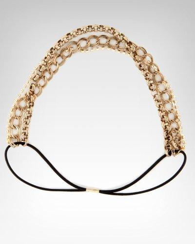Rhinestone & Chain Headband