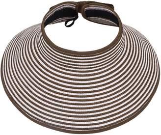 Simplicity Summer Women Wide Brim Sun Visor Foldable Roll Up Hat