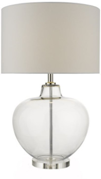Clear Glass Table Lamp Shopstyle Uk