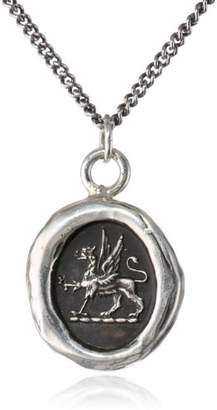 Pyrrha Sterling Spirit Talisman Necklace