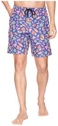 Versace Under The Sea Long Trunk Men's Swimwear