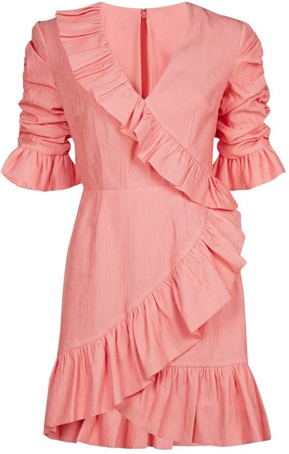 Keepsake The Label Faithful Ruffle Mini Dress