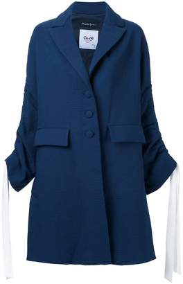 Rossella Jardini drawstring sleeve coat
