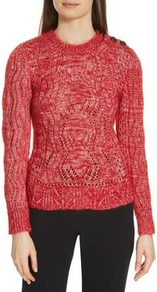 BA&SH Numa Cotton & Silk Blend Sweater