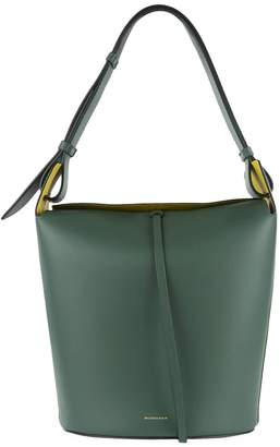 Burberry Large Leather Bucket Bag