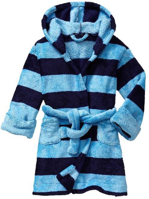 Gap Striped fleece robe