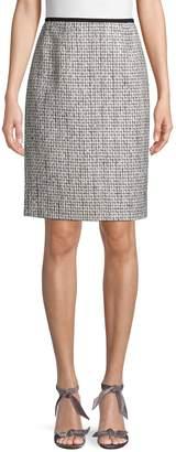 Calvin Klein Collection Classic Textured Skirt