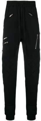 Haider Ackermann multi zip pocket track pants