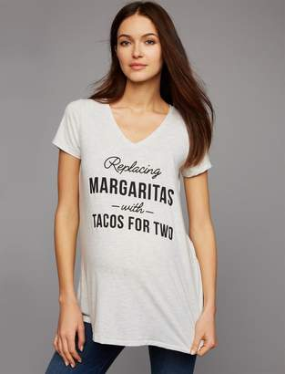 A Pea in the Pod Replacing Margaritas With Tacos For Two Maternity Tee