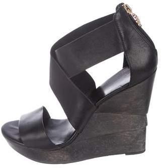 Diane von Furstenberg Platform Wedge Sandals