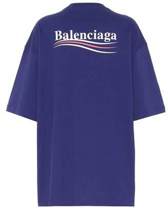 Balenciaga Printed cotton T-shirt