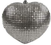 Sam Edelman Textured Heart Convertible Clutch