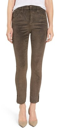 Women's Joe's 'The Wasteland' High Rise Ankle Skinny Corduroy Pants $189 thestylecure.com