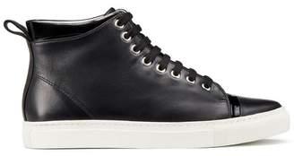 Lanvin Nappa Mid-Top Sneaker