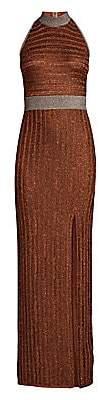 Herve Leger Women's Lurex Halter Gown