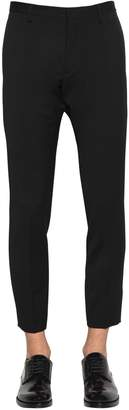 DSQUARED2 Printed Tidy Fit Wool Cady Pants