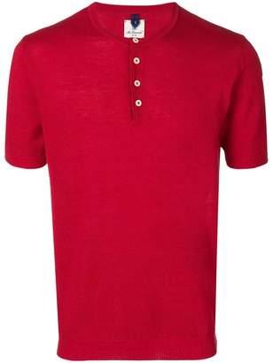 Mc Lauren henley button T-shirt