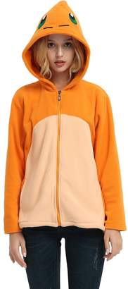 Pokemon Es Unico Charmander Hoodie For Adult and Teens