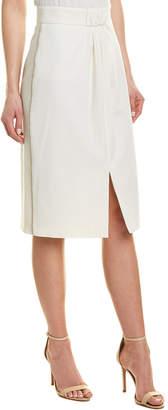 Max Mara Wool-Blend Pencil Skirt