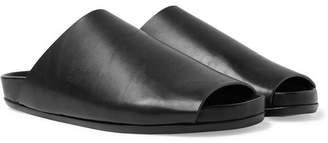Rick Owens Granola Leather Slides