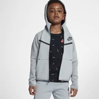 Nike Sportswear Tech Fleece Little Kids' (Boys') Full-Zip Hoodie