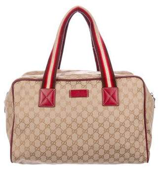 Gucci GG Canvas Duffel Bag