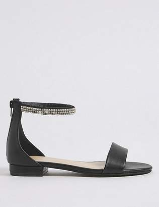Marks and Spencer Jewel Ankle Strap Sandals