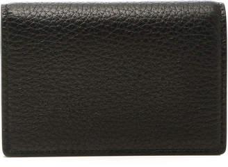 Smythson Burlington Leather Fold Card Case