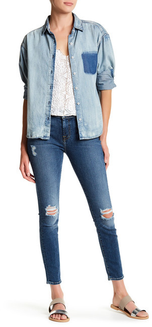 7 For All Mankind7 For All Mankind The Ankle Gwenevere Jean