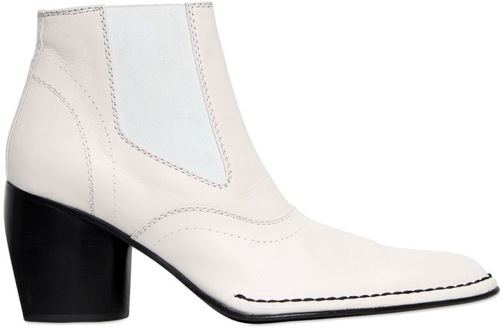 JOSEPH70mm Leather Ankle Boots
