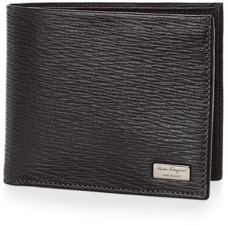 Salvatore Ferragamo Revival 8-Slot Leather Bifold Wallet