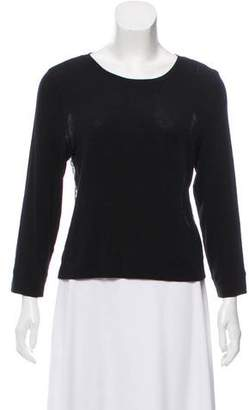 Alice + Olivia Knit Lace Top