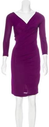 Donna Karan Knee-Length Sheath Dress