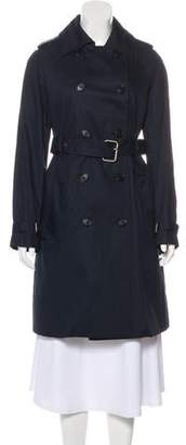 Hunter Double-Breasted Trench Coat