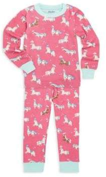 Hatley Little Girl's & Big Girl's Two-Piece Print Pyjamas