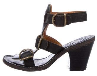 Fiorentini+Baker Leather Multistrap Sandals