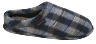 Dearfoams Men's Quilted Clog Slippers