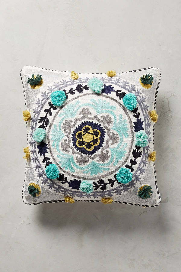 AnthropologieAnthropologie Tufted Leyland Pillow