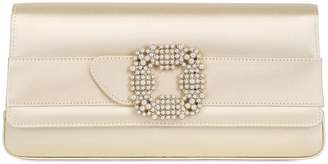 Manolo Blahnik Gothisi Silk Satin Clutch