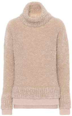 Agnona Mohair-blend sweater