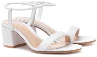 Gianvito Rossi Nikki 60 leather sandals