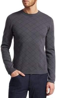 Giorgio Armani Diamond Patter Sweater