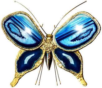 One Kings Lane Vintage Butterfly Sconce by J. Duval Brasseur