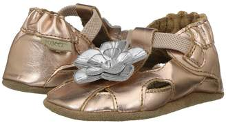 Robeez Pretty Pansy Soft Sole Girl's Shoes