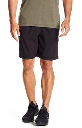 Zella Z By Mesh Panel Stretch Woven Shorts