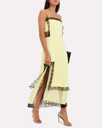 3.1 Phillip Lim Square Cut-Out Slip Dress