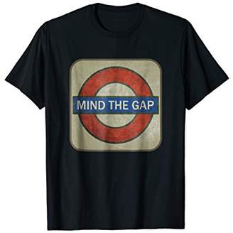 Gap London Retro Underground Subway Mind The Sign T Shirt