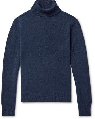 Todd Snyder Mélange Cashmere Rollneck Sweater