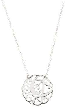 Lord & Taylor Sterling Silver G Initial Pendant Necklace $50 thestylecure.com