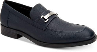 3d09e928855 Calvin Klein Men Craig Scotch Grain Leather Loafers Men Shoes